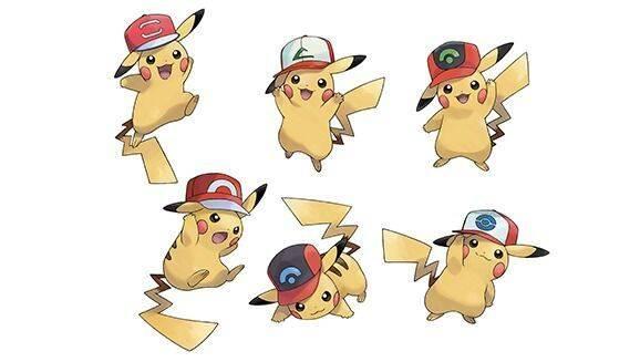 Pokemon Sol y Luna anuncia la distribución de Pikachu con la gorra de Ash