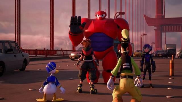 Big Hero 6 en el nuevo tráiler de Kingdom Hearts III