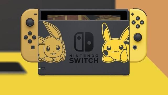 Anunciada la edición especial Pikachu & Eevee de Nintendo Switch