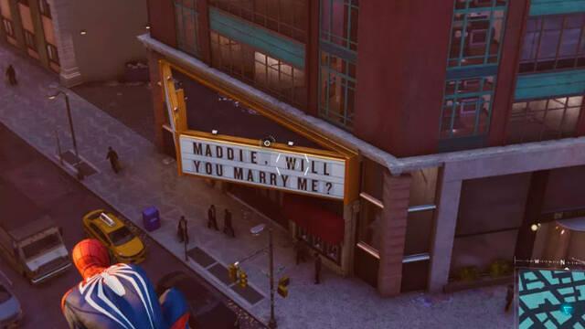 Una proposición de boda en Spider-Man se convierte en un triste 'easter egg'