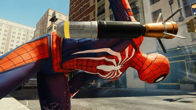 Los cohetes de Spider-Man son, en realidad, insecticidas contra arañas