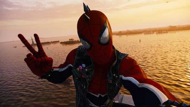 Así es el espectacular modo foto de Spider-Man