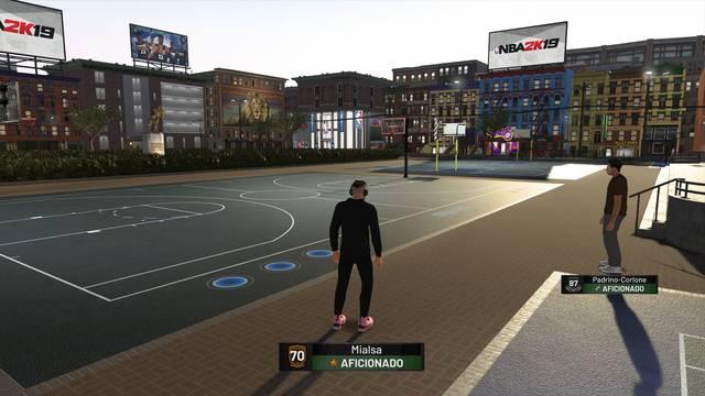 El Parque en NBA 2K19: Todas sus posibilidades