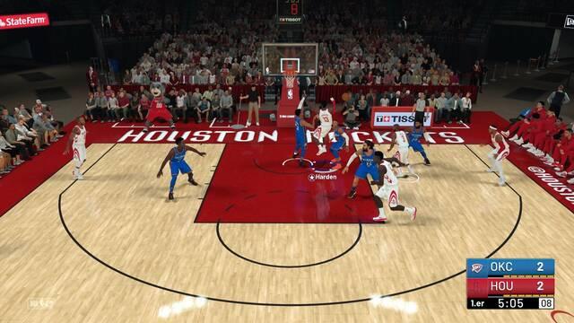 Cómo tirar a canasta y encestar fácilmente en NBA 2K19