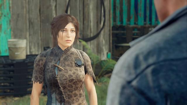 Lidia con los saqueadores en Shadow of the Tomb Raider - Misión secundaria