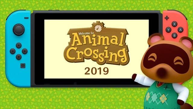 Un nuevo Animal Crossing llegará a Switch en 2019