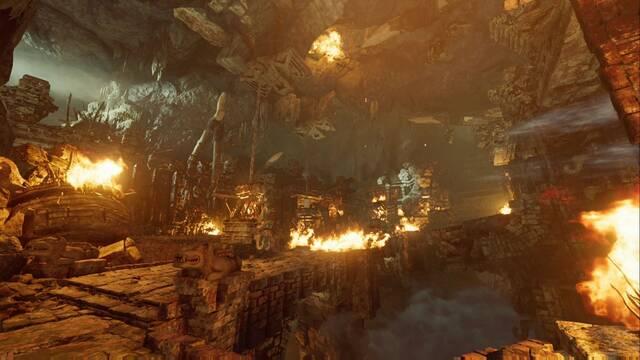 Cuevas ululantes en Shadow of the Tomb Raider - Tumba de Desafío