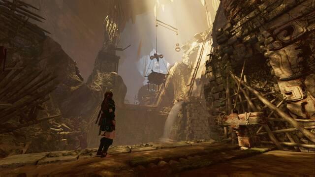 Acueducto antiguo en Shadow of the Tomb Raider - Tumba de Desafío