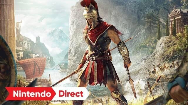 Anunciada una versión de Assassin's Creed Odyssey en la nube para Switch