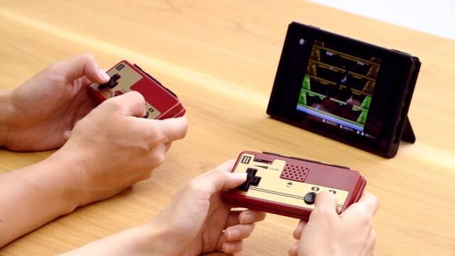 Así son los nuevos mandos de NES para Switch en Japón