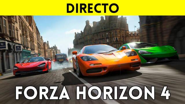 Jugamos en directo a Forza Horizon 4 a partir de las 19:00