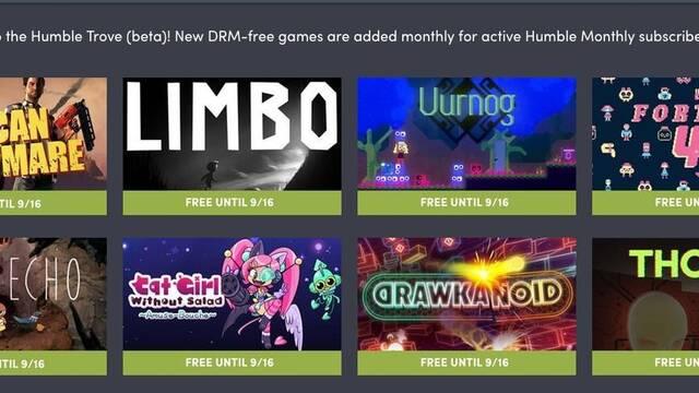 Limbo y otros ocho juegos se suman al Humble Monthly Trove