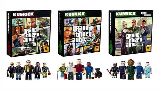 Llegan las figuras coleccionables Kubrick de GTA IV y GTA V