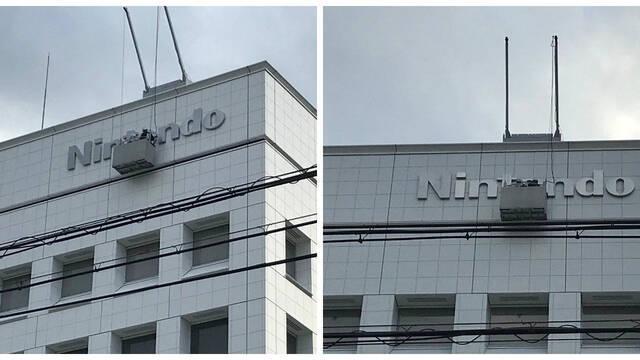 El cuartel general de Nintendo recupera la gran 'N'