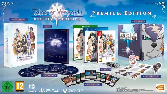 Anunciada la edición Premium de Tales of Vesperia Definitive Edition