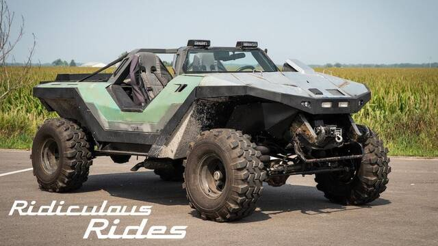 Real Life Halo Vehicles: A Real And Legal HALO Warthog Has Been Built, Check Out