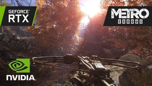 NVIDIA muestra la iluminación Ray Tracing para Metro Exodus en vídeo