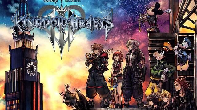 Nuevo tráiler e imágenes de Kingdom Hearts III; Así es su portada