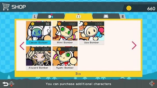 Super Bomberman R suma nuevos personajes y escenarios