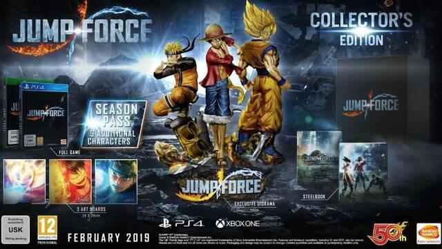 JUMP Force se lanza en febrero; Nuevos personajes y edición coleccionista