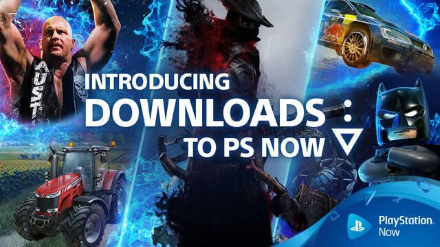 PlayStation Now permite ahora descargar los juegos de PS4 y PS2