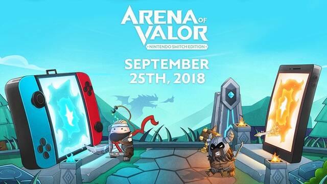 Arena of Valor llega a Switch el 25 de septiembre