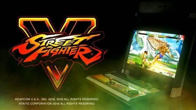 Street Fighter V: Arcade Edition tendrá versión para recreativas