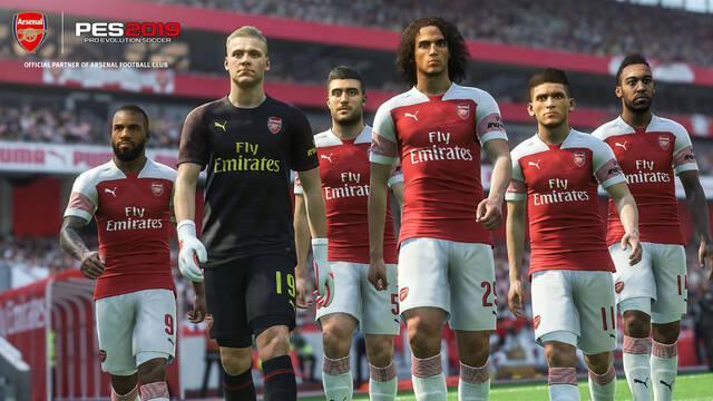 Konami renueva su patrocinio oficial con el Arsenal FC para PES 2019