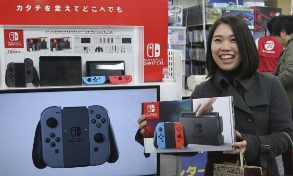 Nintendo Switch continúa como la consola más vendida de la semana en Japón