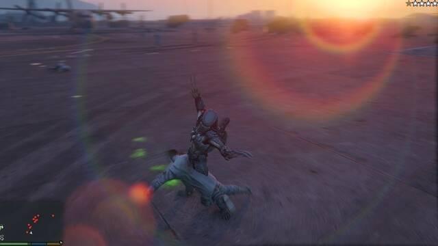 Predator protagoniza un 'mod' para GTA V creado por un aficionado