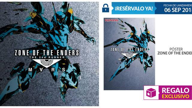 GAME detalla sus incentivos para Zone of the Enders: The 2nd Runner MARS