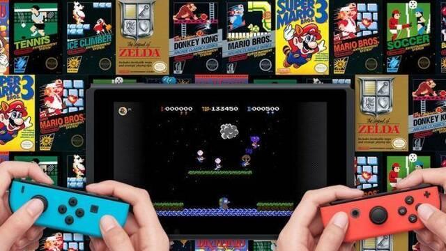 Switch necesita una conexión por semana para desbloquear los clásicos de NES