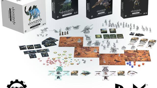 El juego de mesa de Horizon Zero Dawn consigue su financiación en dos horas
