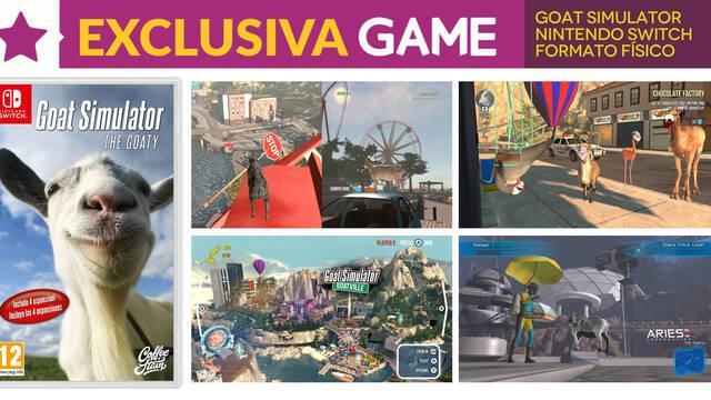 GAME presenta la exclusiva versión física de Goat Simulator: the GOATY