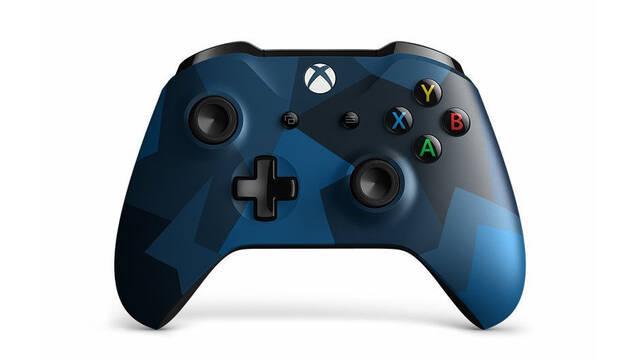 Microsoft presenta el flamante mando inalámbrico Midnight Forces II Special Edition