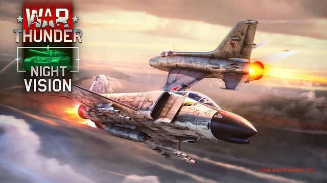 War Thunder recibe la actualización 1.91 con visión nocturna, mapas y decenas de vehículos