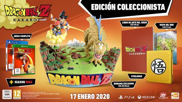 Dragon Ball Z Kakarot: así es su edición coleccionista y los extras de reserva