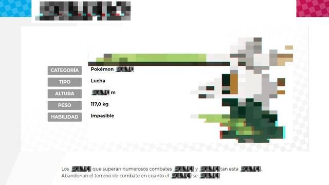 Pokémon Espada y Escudo: Aparece un Pokémon en forma de glitch en la web oficial
