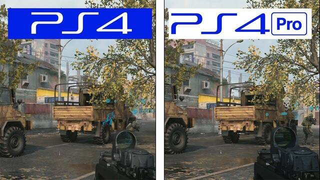 Comparan los gráficos de la beta de Call of Duty: Modern Warfare 2019 en PS4 y PS4 Pro