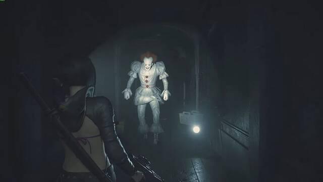Resident Evil 2 Remake: Enfréntate al payaso Pennywise de It con este mod