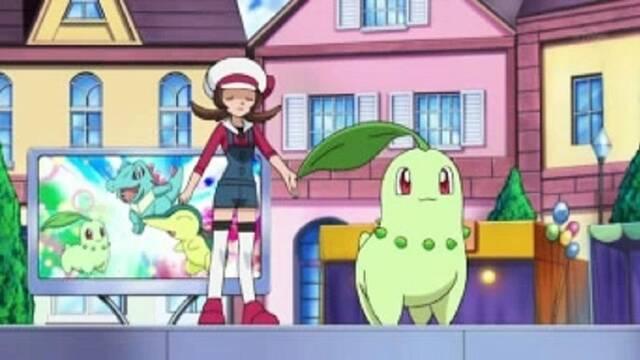 Pokémon Masters anuncia su próxima pareja de compis: Lira y Chikorita