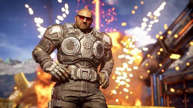 Gears 5: Ya podemos jugar como Dave Bautista, que será una versión de Marcus Fenix