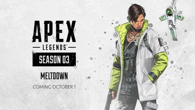La temporada 3 de Apex Legends comienza el 1 de octubre con una nueva leyenda: Crypto