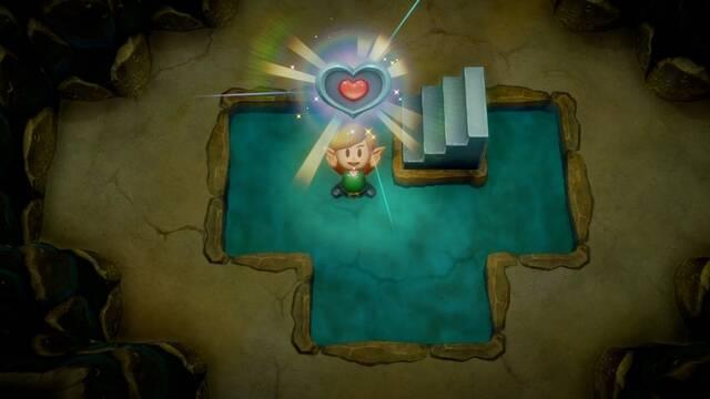 TODAS las Piezas de Corazón en Zelda: Link's Awakening - LOCALIZACIÓN
