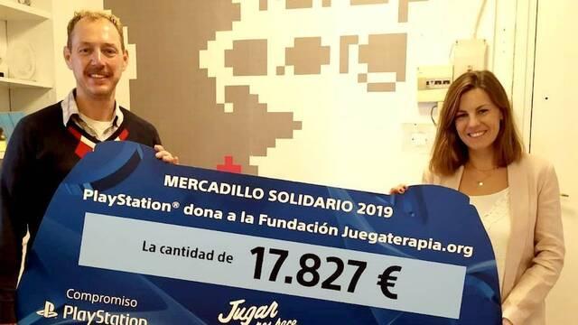 El Mercadillo Solidario de PlayStation ha recaudado 17.827€ para Juegaterapia