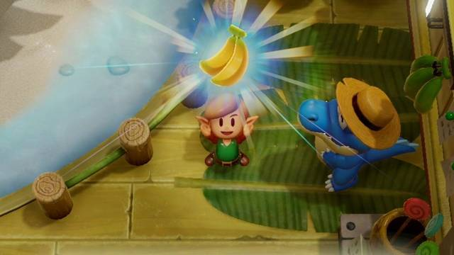 Intercambio de objetos en Zelda: Link's Awakening - Objetos y NPCs