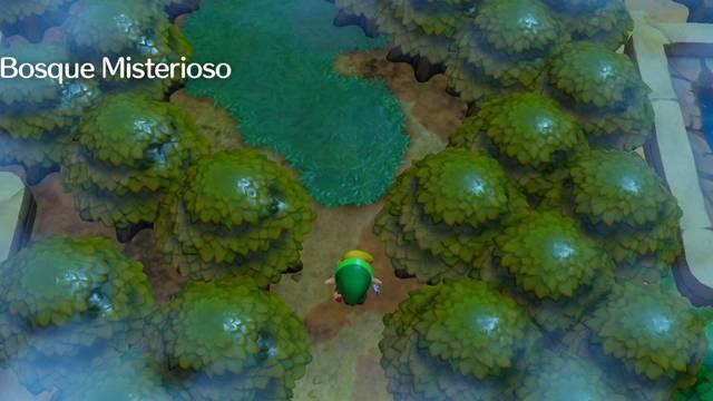 Bosque Misterioso en Zelda: Link's Awakening: secretos y 100%