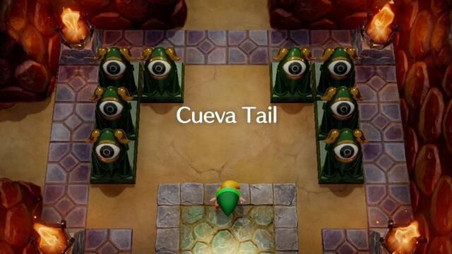 Cueva Tail en Zelda: Link's Awakening: secretos y 100%