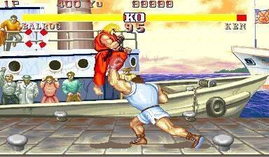 El equipo de Street Fighter II tenía dudas con introducir un sistema de bloqueo de golpes