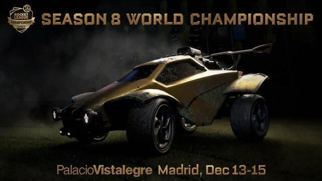Madrid acogerá el Campeonato Mundial de la Temporada 8 de Rocket League